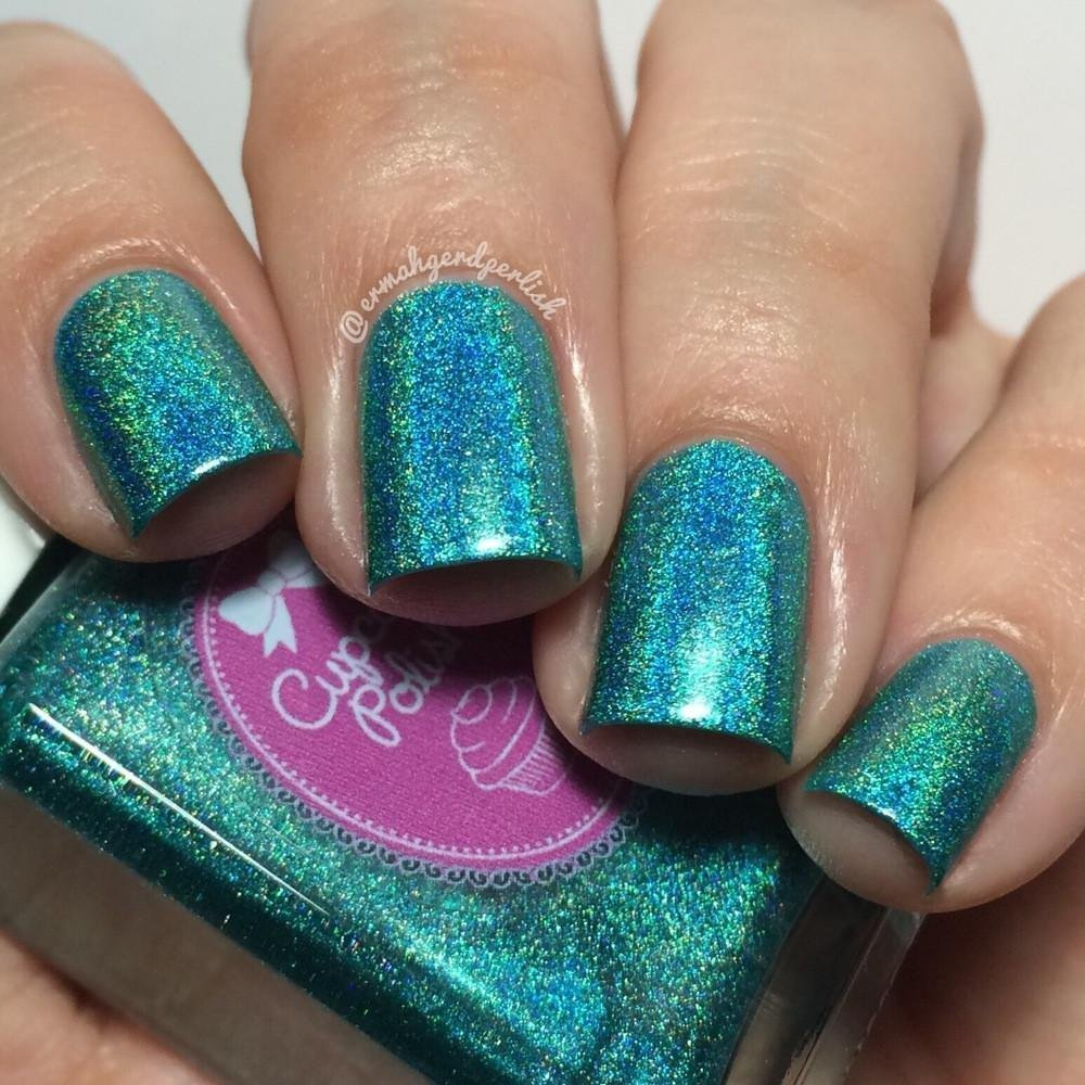 Water You Doing? - holographic nail polish by Cupcake Polish