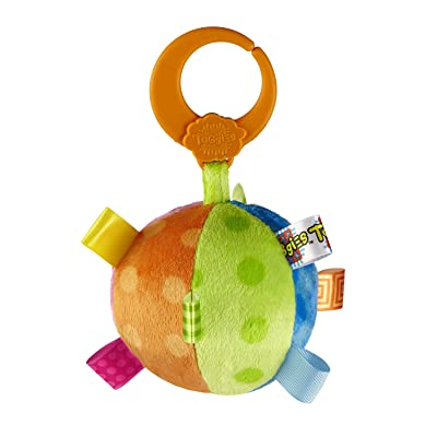 Taggies Fun Shapes Multi Color Ball (Discontinued by Manufacturer) : Baby Rattles : Baby
