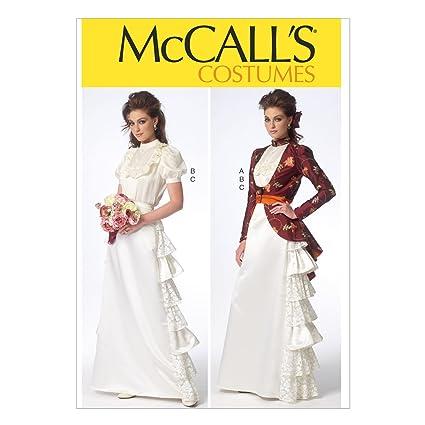 Unbekannt M7071 McCalls de Costura para Confeccionar Blusas, Trajes, Vestidos, Moda, MC