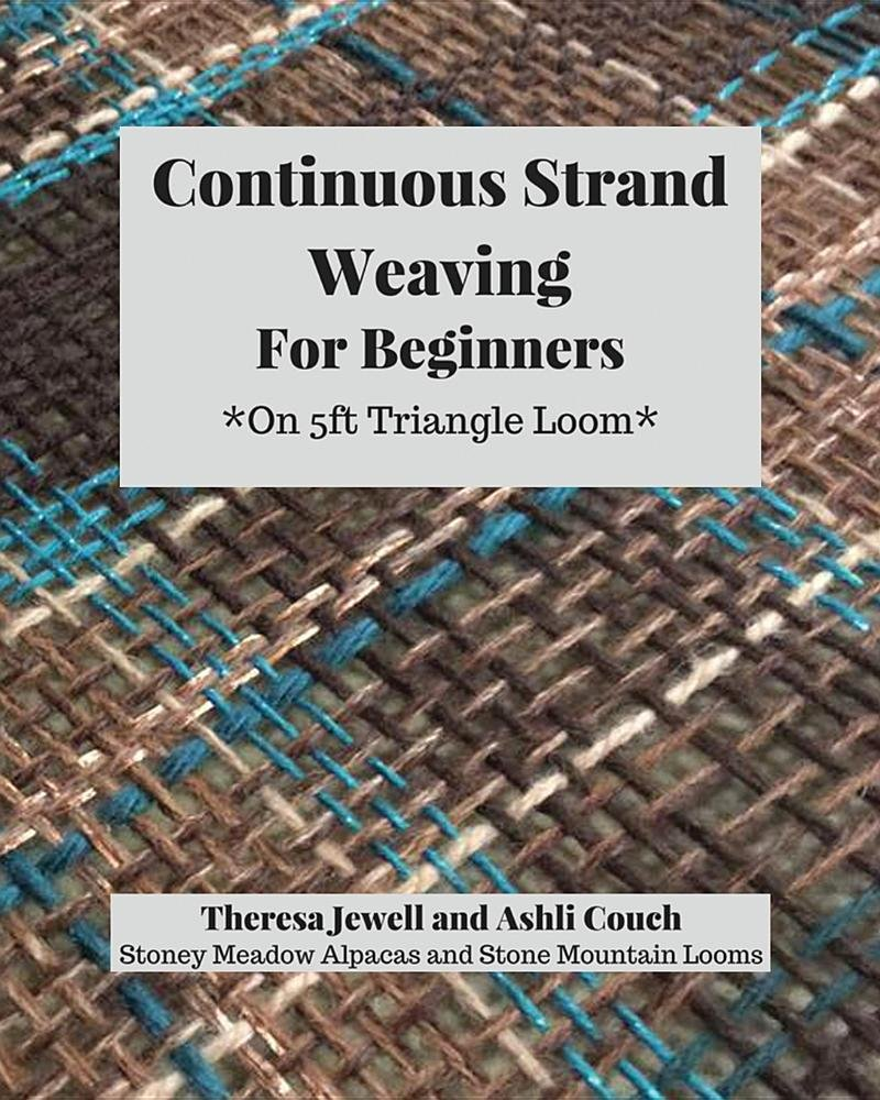 Continuous Strand Weaving For Beginners: On 5ft Triangle