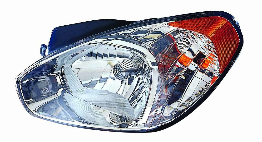 Depo 321-1132R-ACN Hyundai Accent Right Hand Side CAPA Certified Head Lamp Assembly
