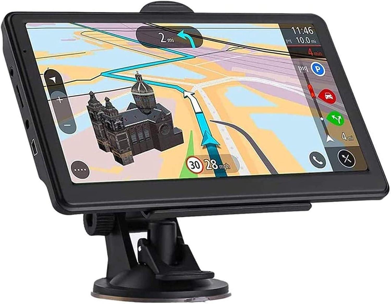 Sistema de navegación GPS para coche Navegación GPS for coches, dispositivos de navegación con pantalla táctil de 7 pulgadas for el carro, ambulancia, autobús, taxi Navigator con lenguajes libres actu