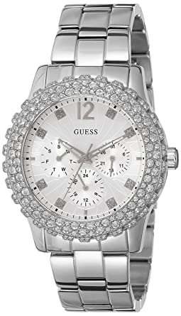 Guess W0335L1 - Womens Wristwatch, Stainless Steel, color: Silver