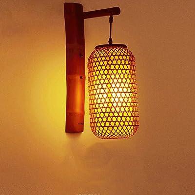 Chinois Yyf Lantern Inn De Bamboo Wall Bambou Applique Lampes FuT1K3lJc