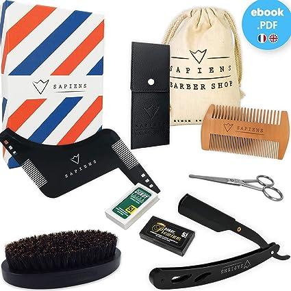 Sapiens - Estuche completo para barba: Amazon.es: Belleza