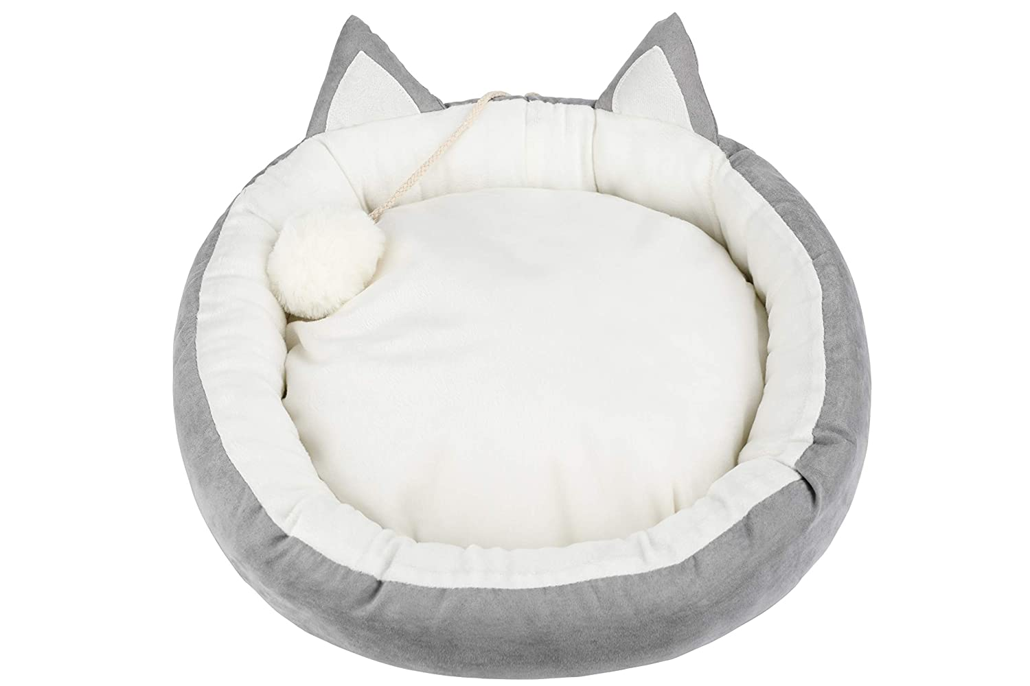 Washable Cat Bed in shape of cat
