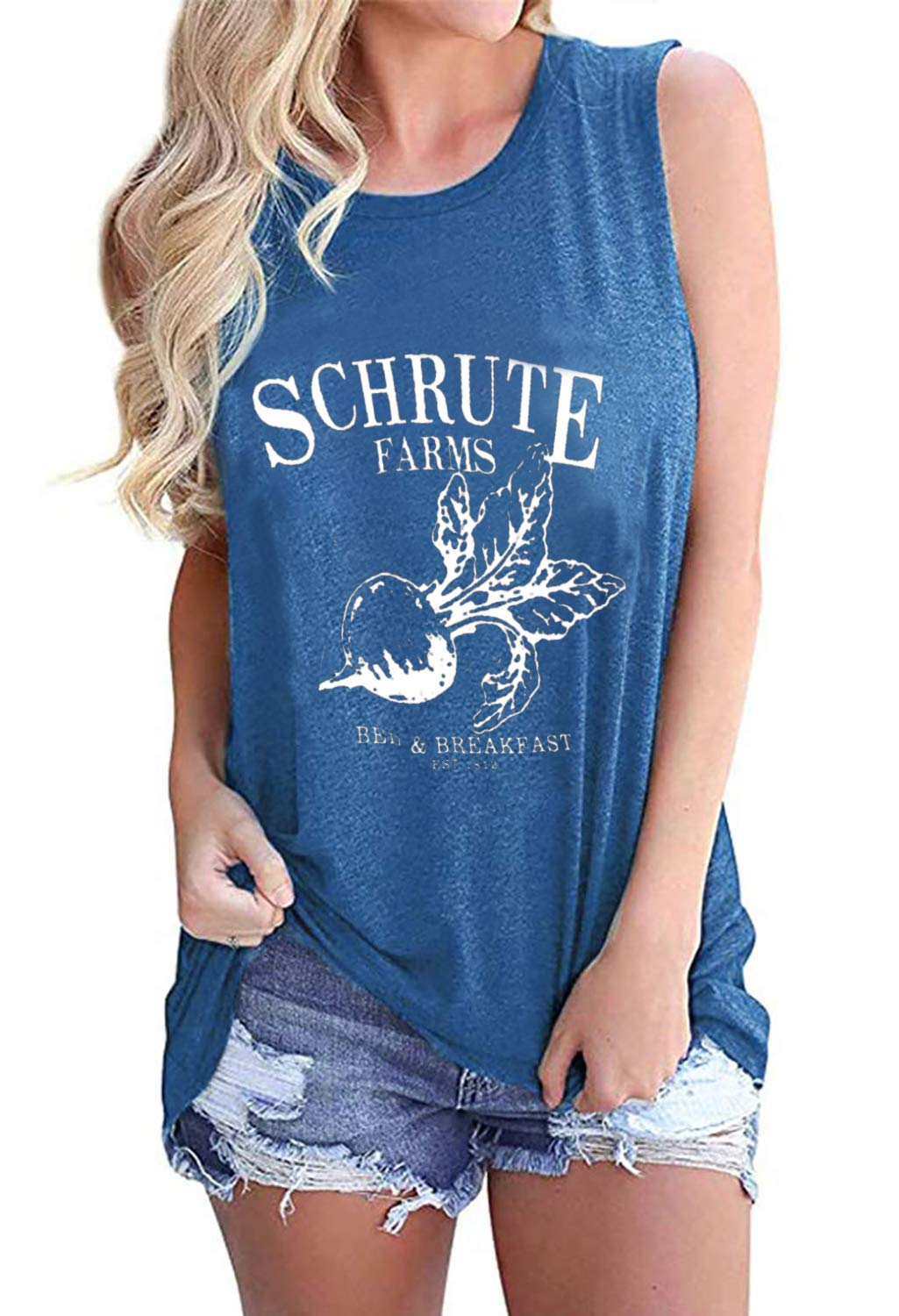 Women Schrute Farms Hoodie Sweatshirt Letters Graphic Long Sleeve Drawstring Tops Pullover with Pocket