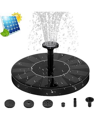 Fuente Solar Bomba, Energía Solar al Aire Libre de pie Fountain Pump, Bomba Flotante