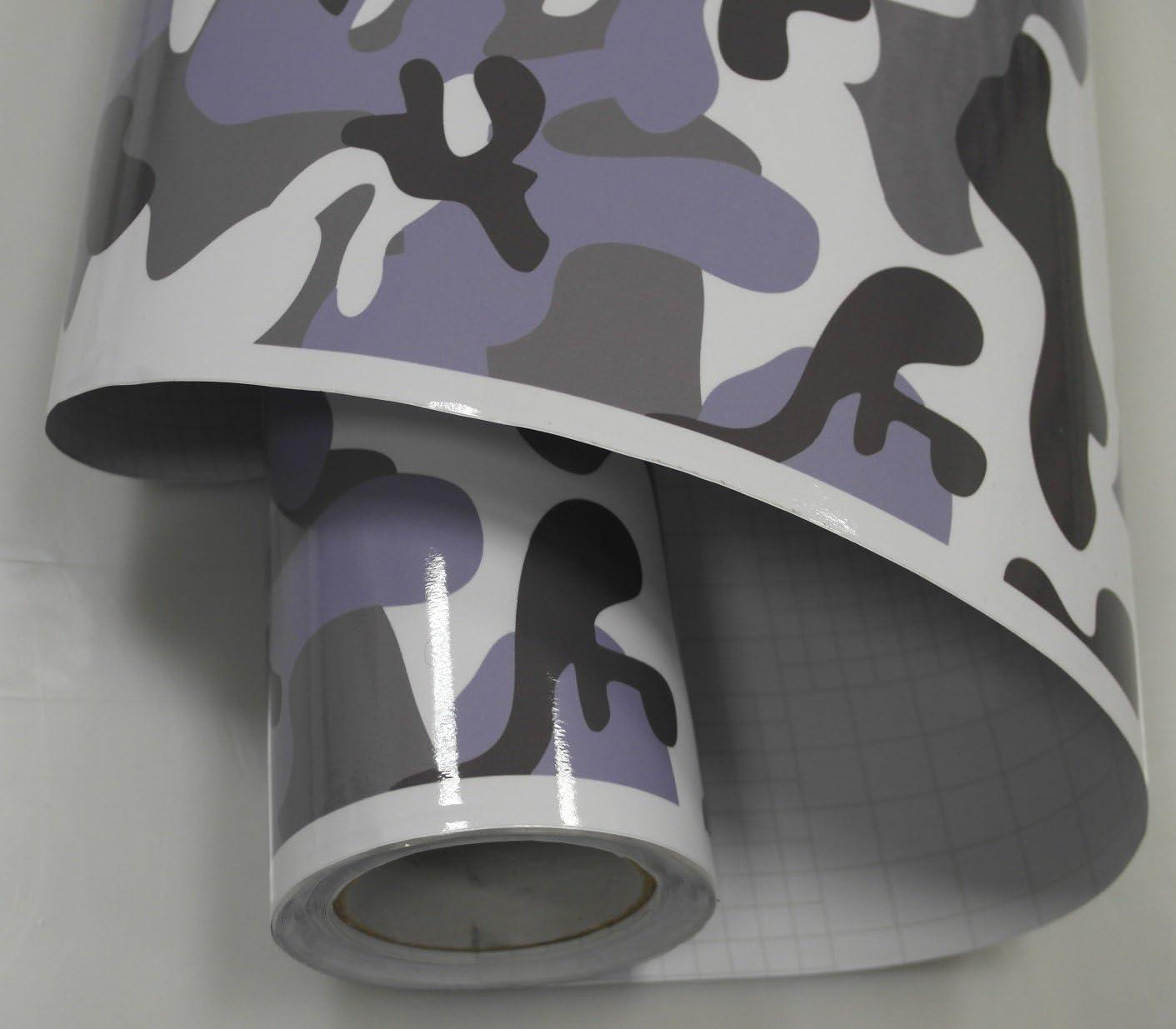 Könighaus 11 18 M2 Winterweiss Metro Urban 200 X 152 Cm Blasenfrei Mit Anleitung Camouflage Autofolie Auto