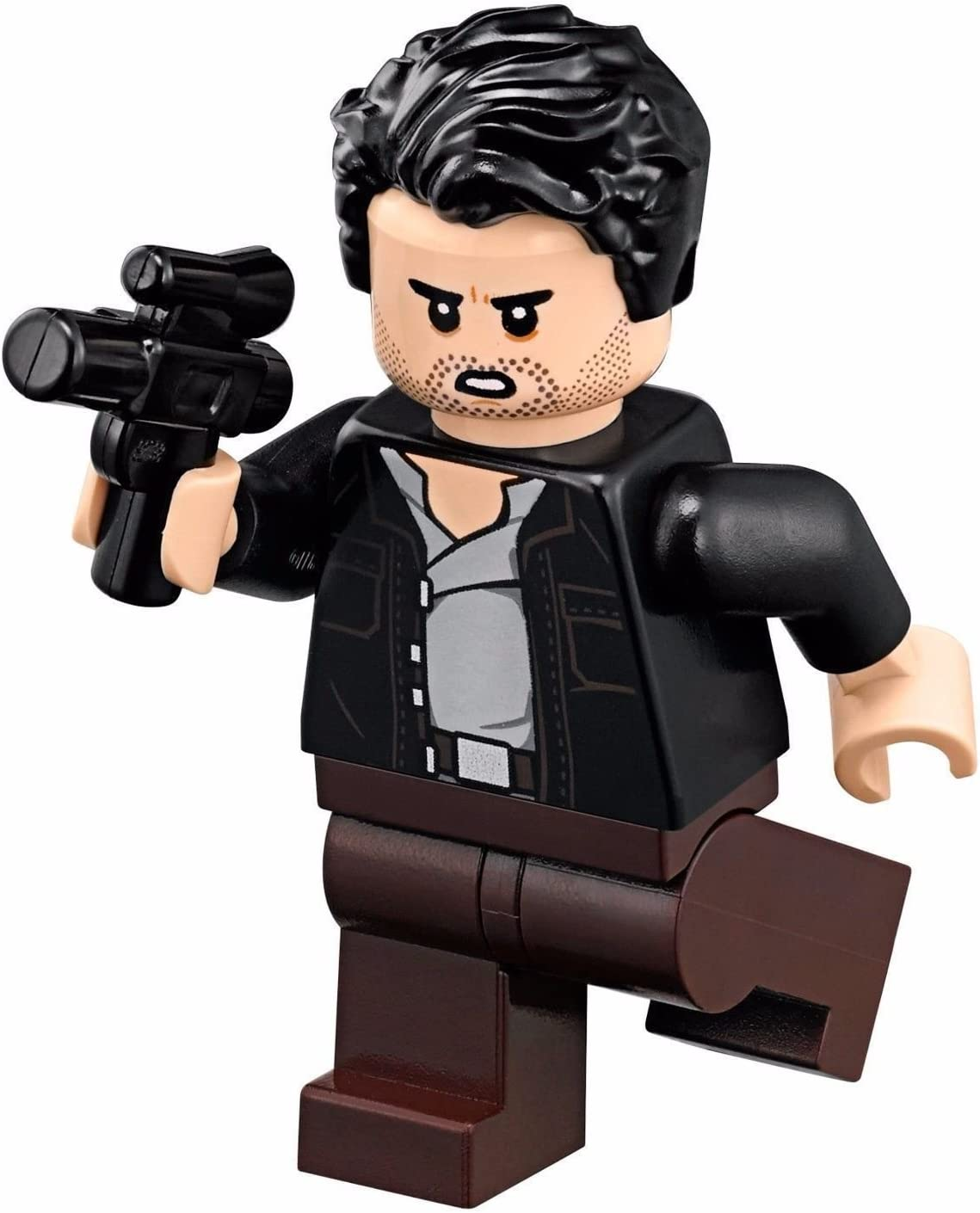 LEGO Star Wars Episode 8 Minifigure - Captain Poe Dameron with Black Jacket (75189)