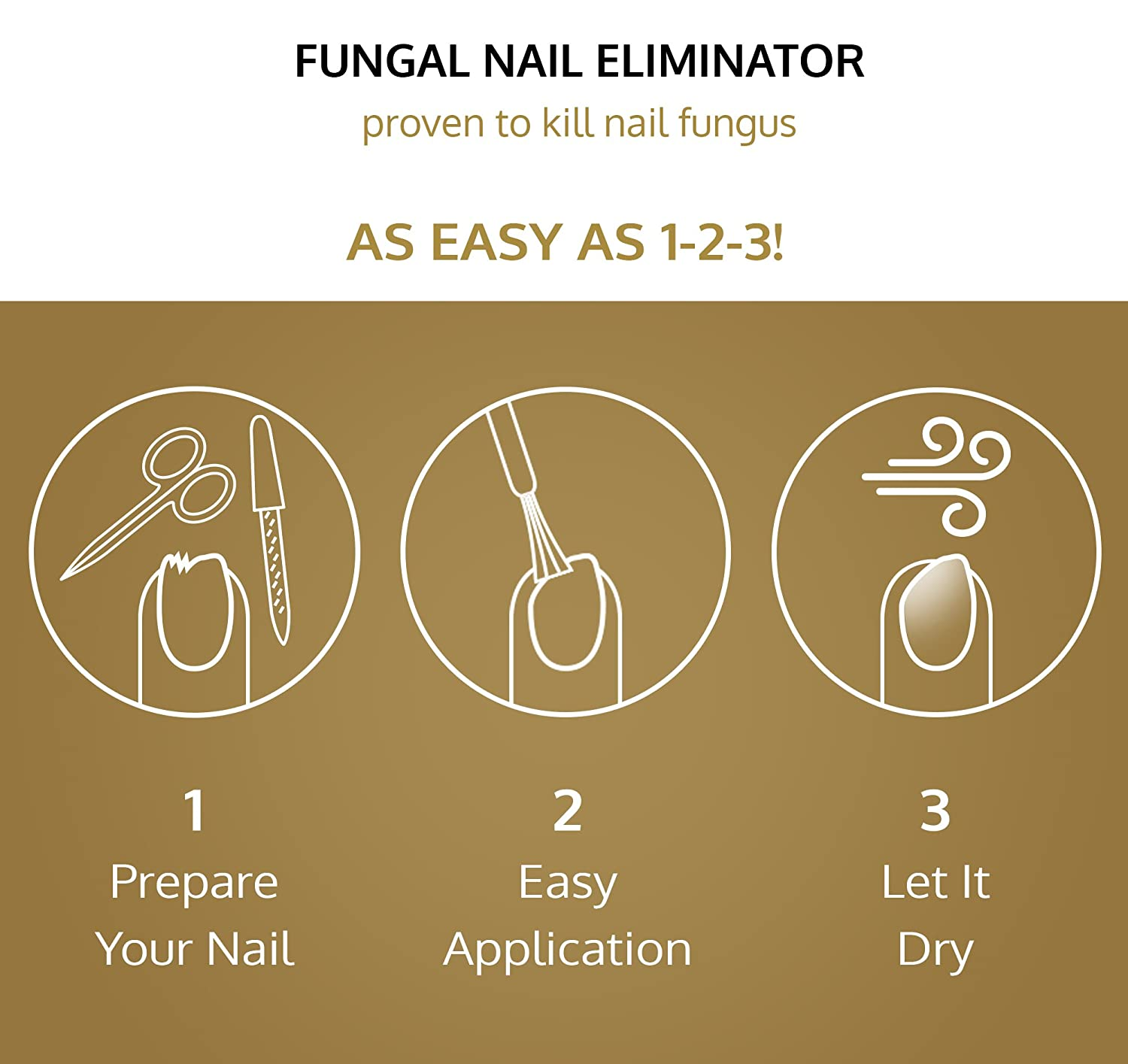 Amazon.com : Gold Mountain Beauty Fungal Nail Eliminator with ...