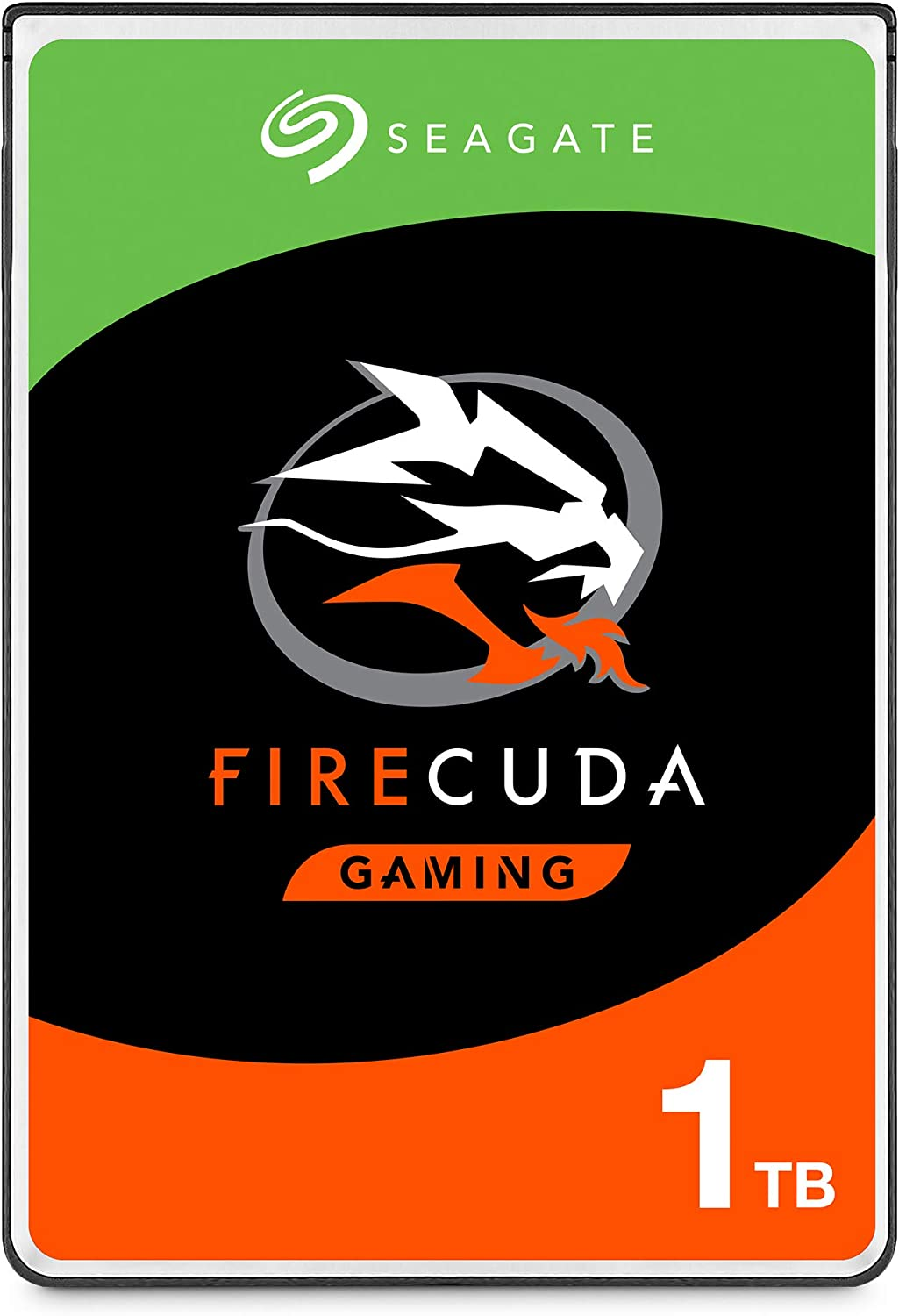 Seagate FireCuda 1TB Solid State Hybrid Drive Performance SSHD – 2.5 Inch SATA 6GB/s Flash Accelerated for Gaming PC Laptop - Frustration Free Packaging (ST1000LX015)