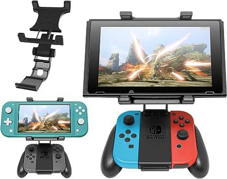 FASTSNAIL - Soporte de clip para Joy con y Nintendo Switch/Switch Lite (rotatorio): Amazon.es: Electrónica