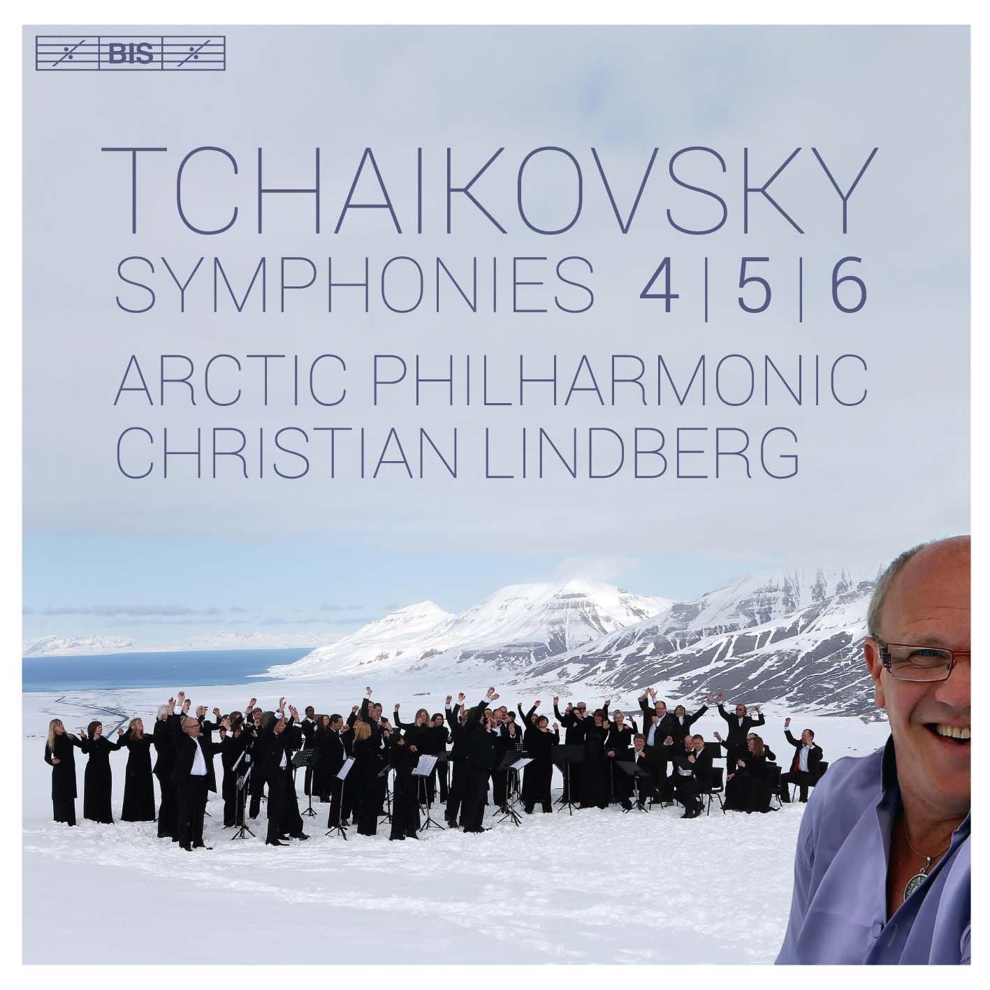 SACD : Tchaikovsky / Arctic Philharmonic / Lindberg - Pyotr Ilyich Tchaikovsky: Symphonies Nos 4-6 (Hybrid SACD)