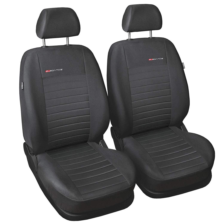Elegance P1 Fundas Asiento Coche Delanteros Fundas Asientos con Sistema de Airbag