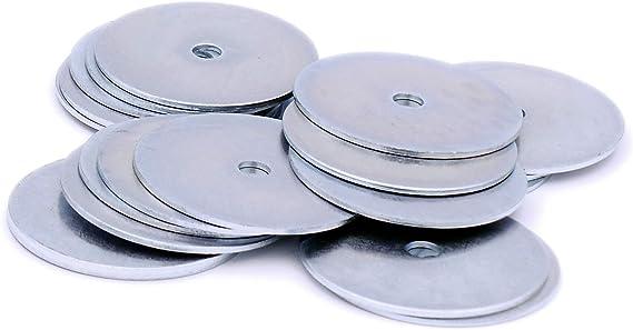 8 mm x 38 mm paquete de 100 chapado en zinc Arandelas de reparaci/ón M8
