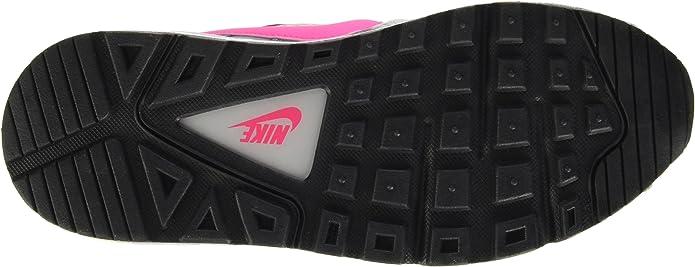 Nike Air Max Command, Baskets Basses Fille, Gris Grau (Wolf