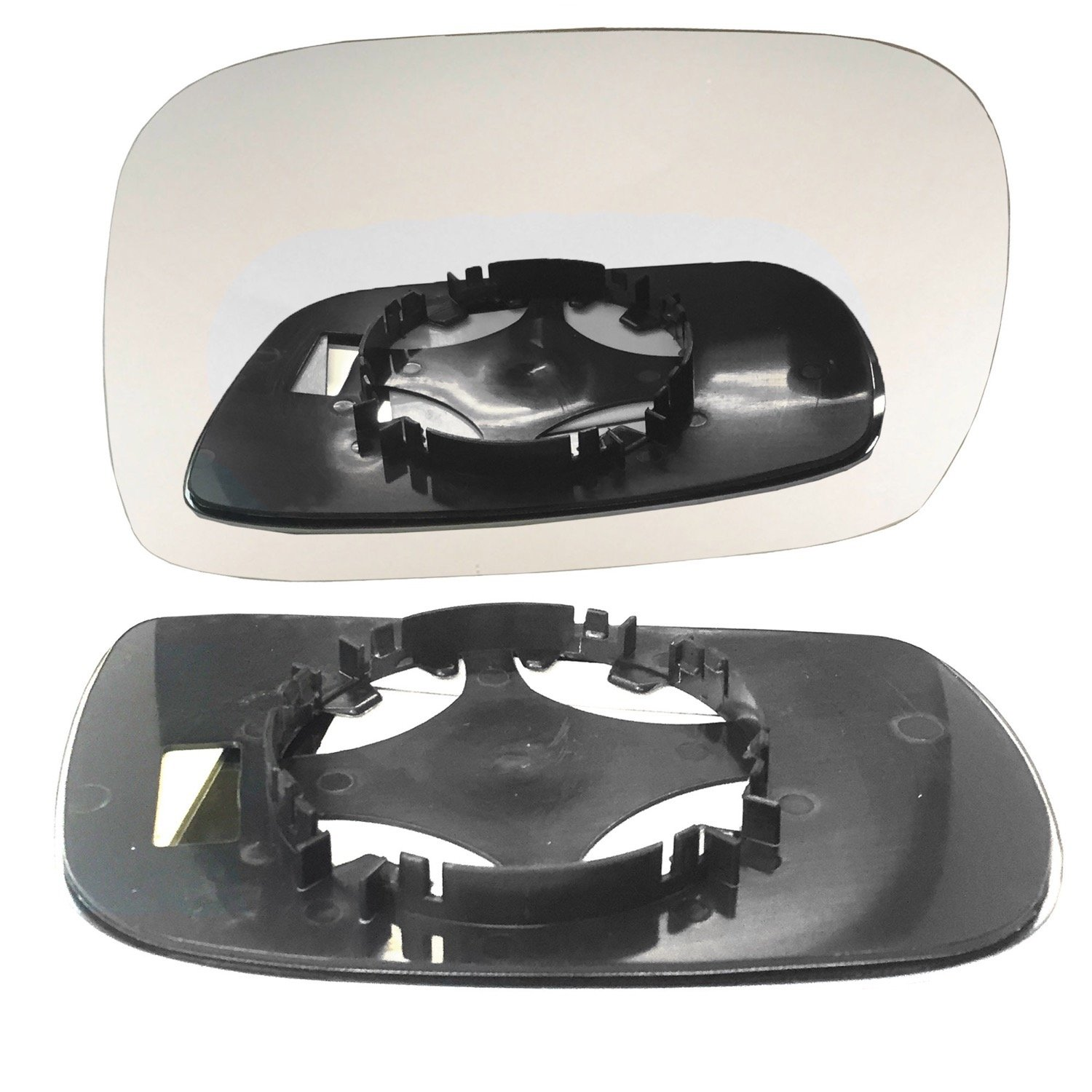 Right hand, driver side wing door clip mirror glass # VaAgi/F01-2007673/590 Less4Spares