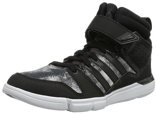 Adidas Iriya 2 Celebration - Zapatillas deportivas para interior de cuero mujer, color negro,