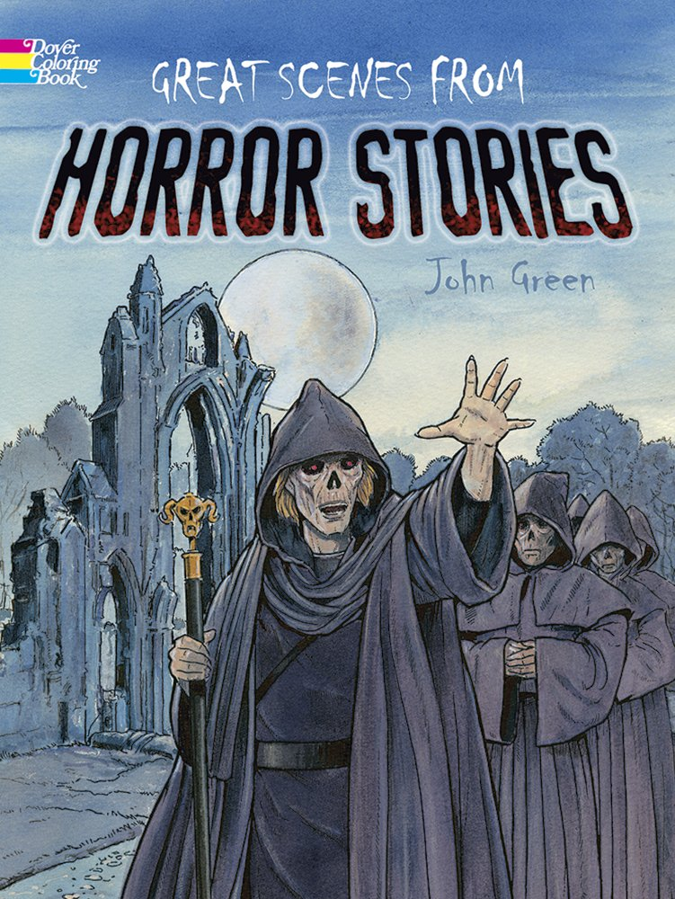 Scenes Horror Stories Classic Coloring
