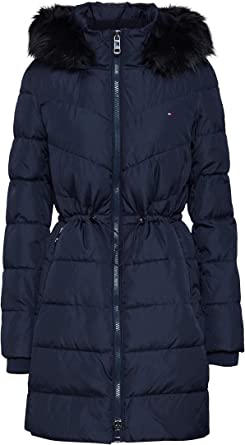 Costa patrón olvidar  Tommy Hilfiger Women's Alana Padded Coat: Amazon.co.uk: Clothing