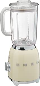 Smeg BLF01CRUS 50s Style Blender,, Cream, 48 Ounces