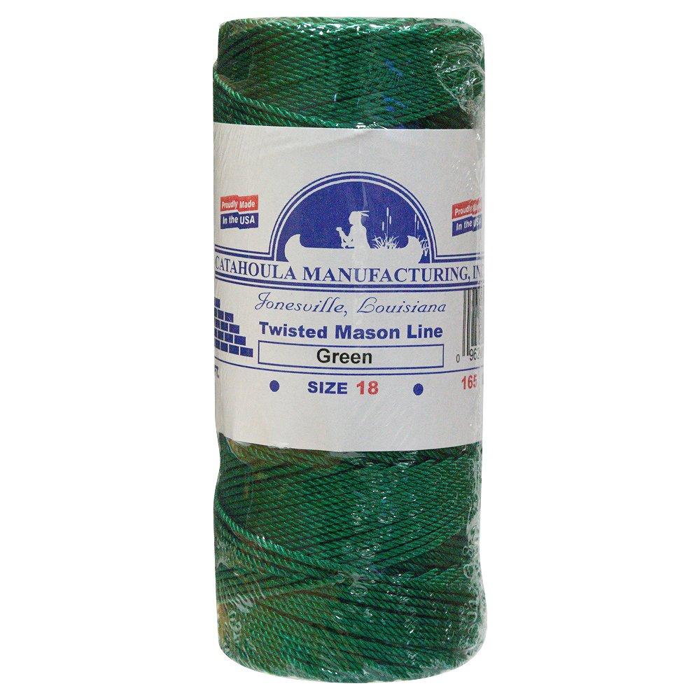 Mason Line, Twisted Nylon. Green, 500 ft 3-pack