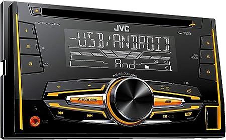 Jvc Kw R520 Doppel Din Usb Cd Receiver Mit Elektronik