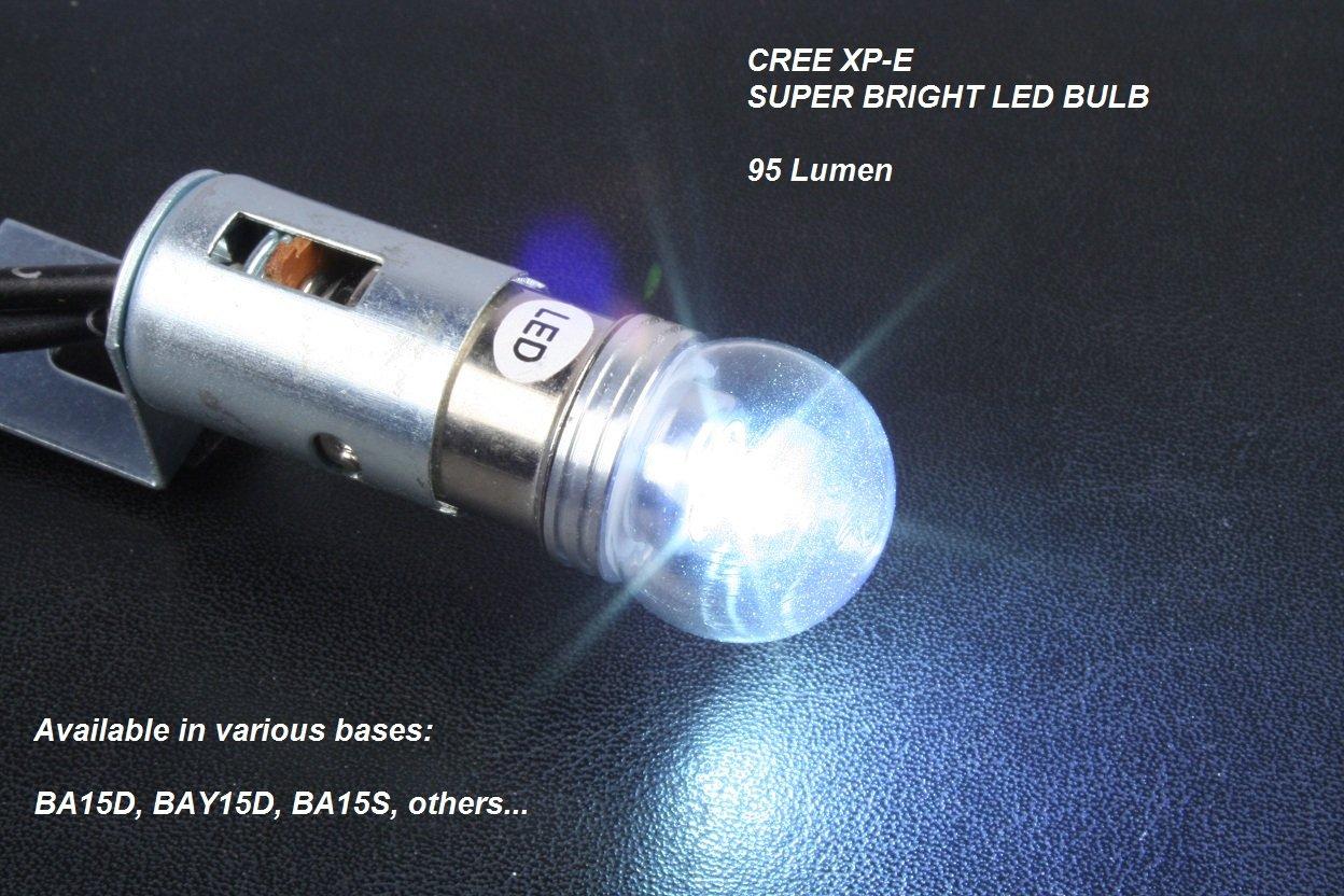 Brightest Led Bulb >> 1156 Led Auto Bulb Cree Xp E Super Bright Cool White Led