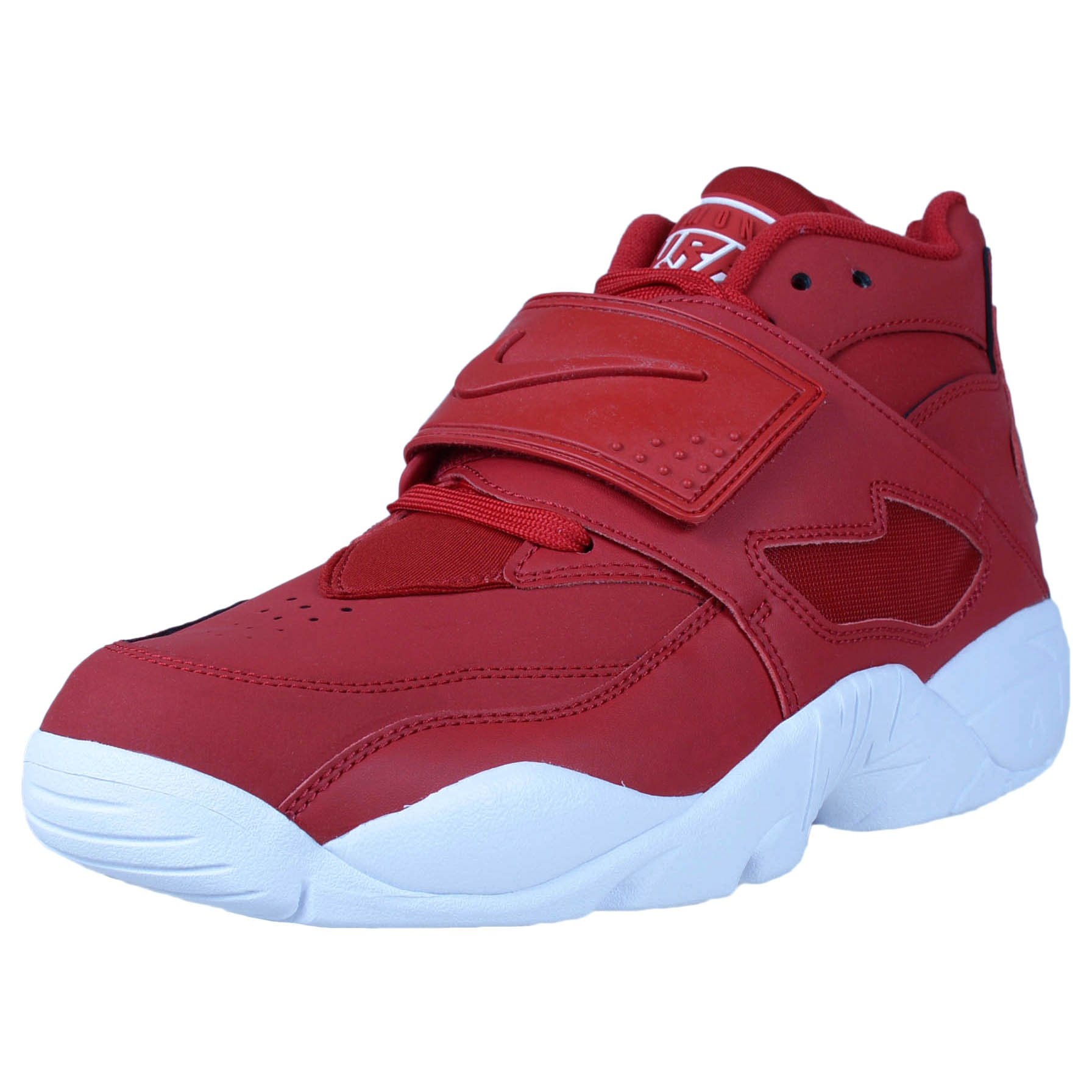 Nike Men's Air Diamond Turf Deion Sanders Gym Red/Gym Red-White 309434-600 Shoe 11 M US Men by Nike