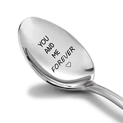 Personalized Engraving Coffee Spoon Serving Spoon Stainless Christmas Gift