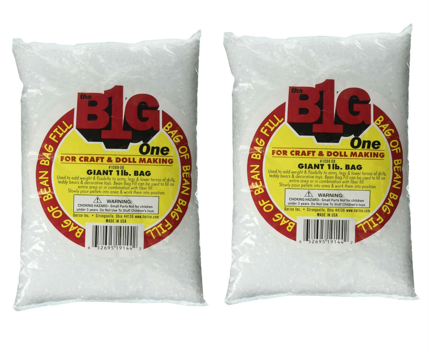 Pleasant Darice Bean Bag Filler Plastic Pellets 16Oz 16 Oz 2 Pdpeps Interior Chair Design Pdpepsorg