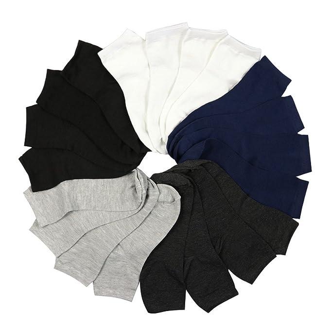 Reveryml Hombre Calcetines 10 pares de hombres calcetines de algodón masculino primavera y otoño invierno calcetines masculinos calcetines térmicos ...