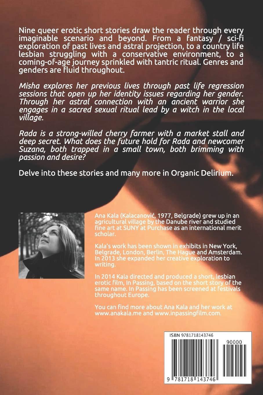 Organic Delirium: Short, Queer, Erotic Stories: Amazon it