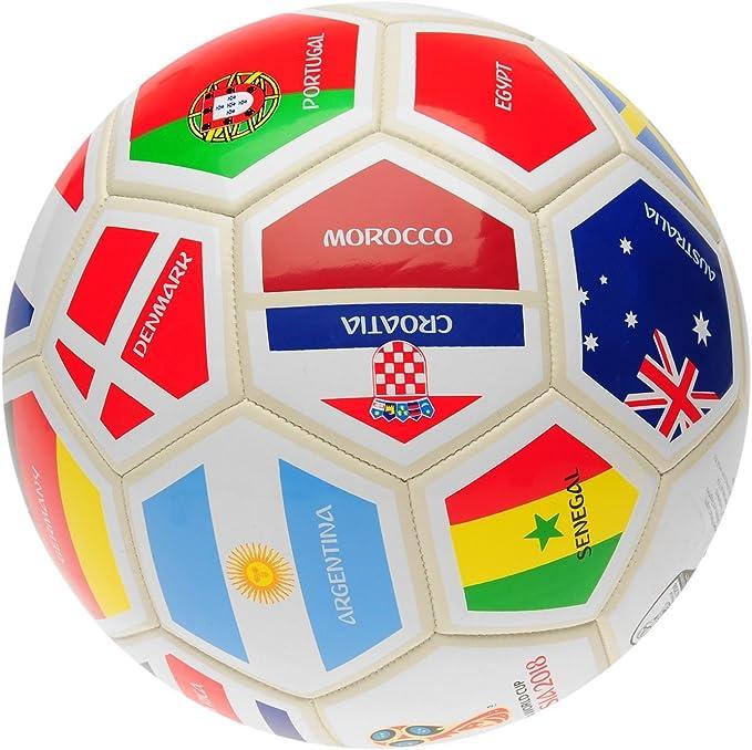 FIFA World Cup 2018 - Balón de fútbol, Color Blanco, Color Blanco ...