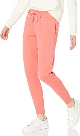 Amazon Essentials French Terry Fleece Jogger Sweatpant - Athletic-Sweatpants Mujer