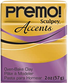 product image for Premo Sculpey Polymer Clay 2 Ounces-18K Gold