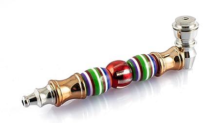 Formax420 Bamboo Metal Smoking Pipe with Cap
