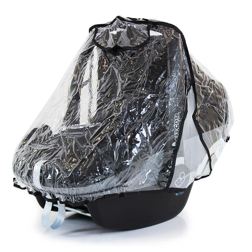 Baby Travel Car Seat Raincover To Fit Mothercare 3-wheel Journey Carseat