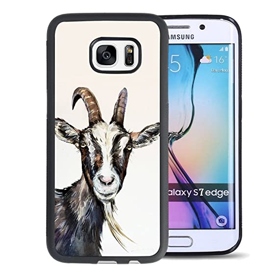 size 40 d5f8c 9d846 Amazon.com: Case for Samsung Galaxy S7 Goat,ChyFS Phone Case ,PC ...