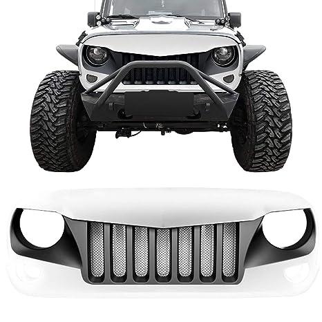 Amazon.com: Rejilla frontal DIYTuning para Jeep Wrangler JK ...