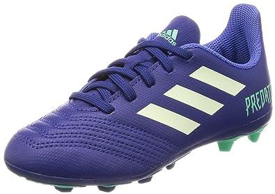 ADIDAS KIDS FOOTBALL PREDATOR 18.4 FLEXIBLE GROUND BOOTS - Unity Ink Aero  Green Hi 73647076e