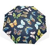 4055951631df Amazon.com : TLMY Transparent PVC Umbrella Rainbow Color Matching ...