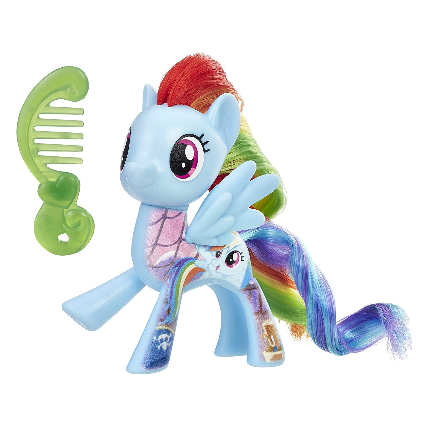 Hasbro Canada Corporation E0728AS00 My Little Pony: The Movie All About Rainbow Dash