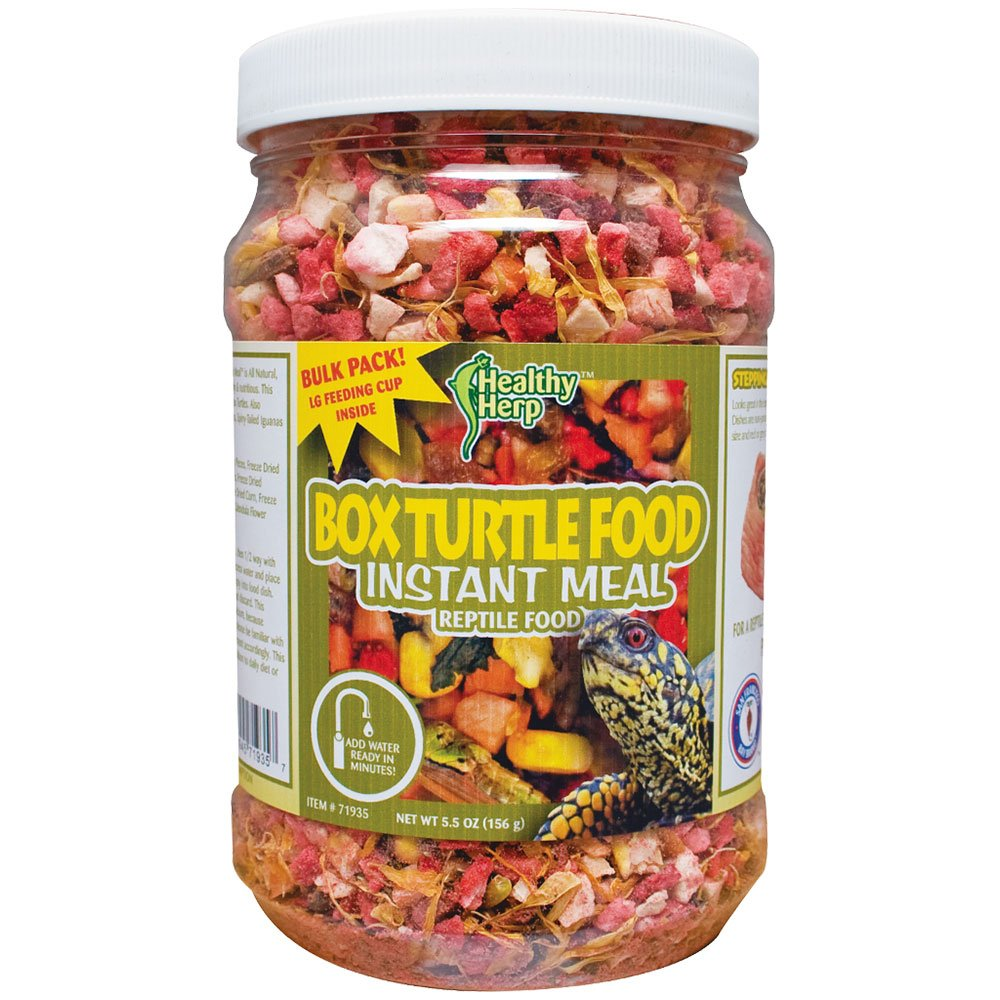 Healthy Herp Box Turtle Food Instant Meal 5.07-Ounce (143.73 Grams) Jar by Healthy Herp