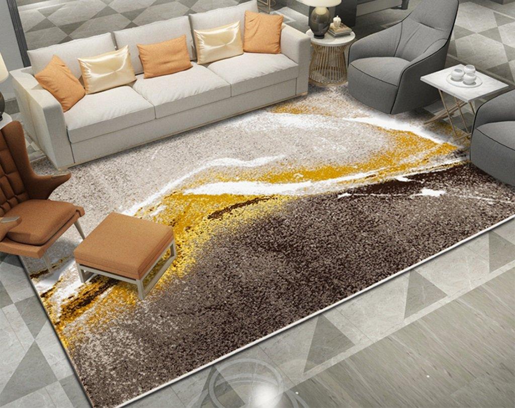 %エリアカーペット 長方形の絨毯のリビングルームのベッドルームのベッドサイドのコーヒーテーブルヨーロッパとアメリカのカーペット カーペット (色 : A, サイズ さいず : 160*230cm) 160*230cm A B07KP1PFH3