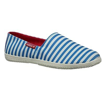 9ead53f2975 adidas Originals Mens Adidrill Espadrilles - Blue White - 11UK   Amazon.co.uk  Shoes   Bags