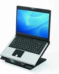 Fellowes Designer Suites Laptop Riser, Black (8038401)