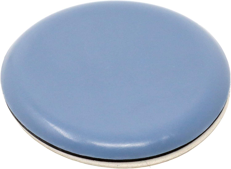 16 x Feltrini in PTFE autoadesivi grigio azzurro 24x100 mm rettangolari piedini mobili autoadesivi di premio qualit/à di Adsamm/®