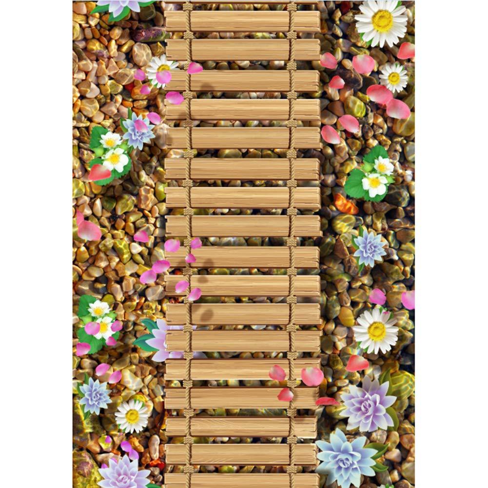 YBYBYB Teppich Polyester Haarige Weiche Rutschfeste Korridor Sofa Couchtisch Wohnzimmer Büro Schlafzimmer Kunst,B3,120  200Cm